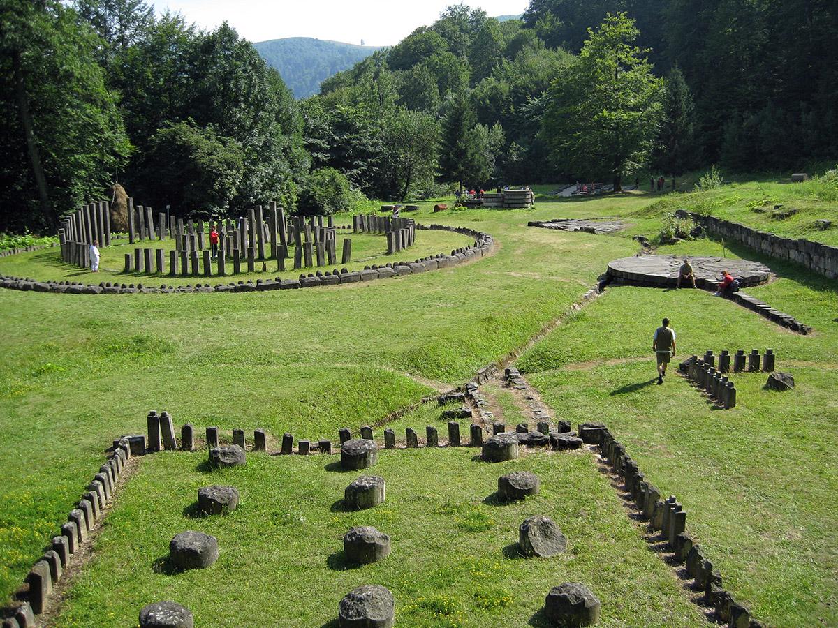 Ruins at Sarmizegetusa Regia