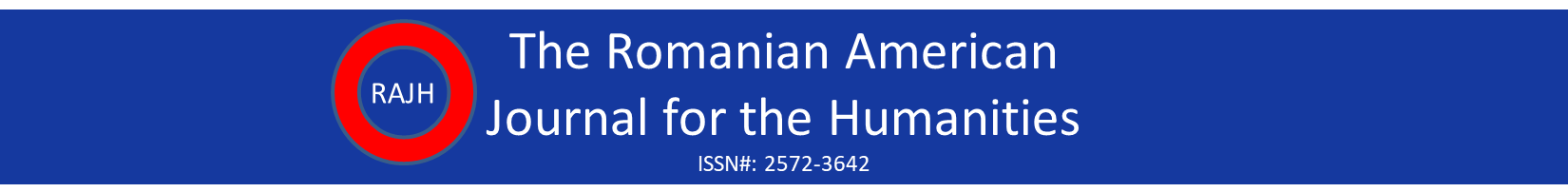 Romanian American Journal for the Humanities